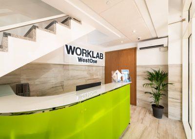 coworking space Gibraltar WorkLab reception
