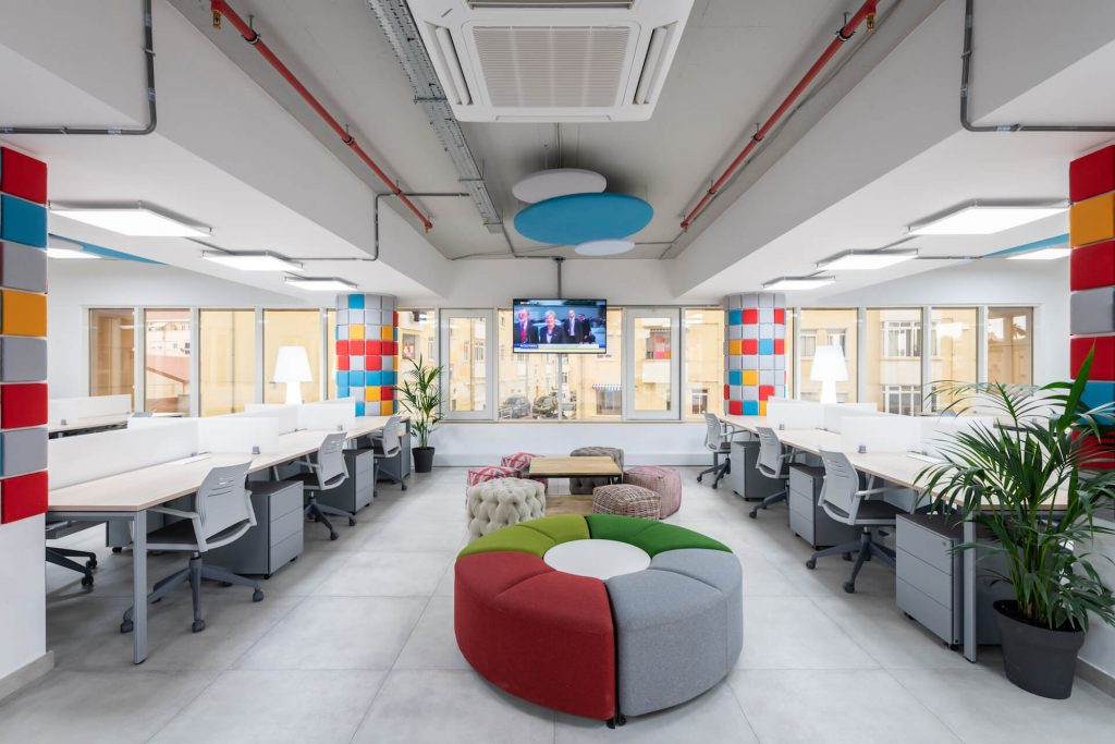 coworking space Gibraltar WorkLab desks